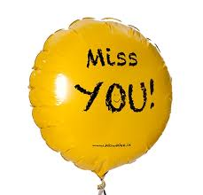 Miss you, too.